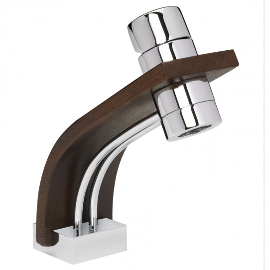 Basin mixer - wood