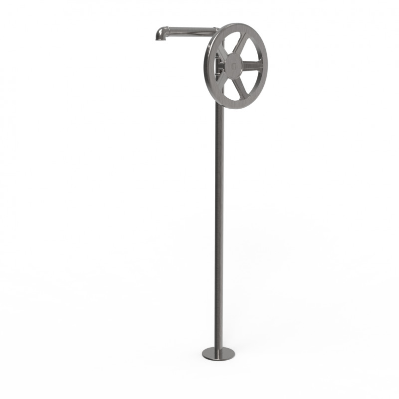 External floorstanding basin mixer