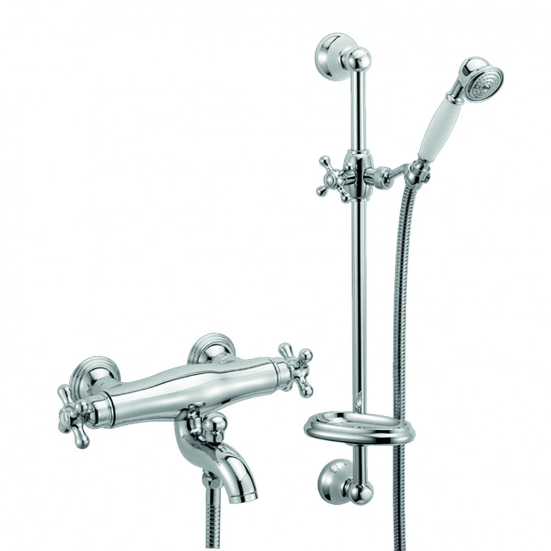 THERMOSTATIC bath shower  with sliding bar